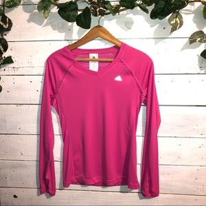 Adidas Climacool long sleeved running shirt sz SM